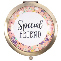Special Friend compact mirror