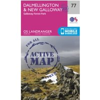 Dalmellington & New Galloway, Galloway Forest Park by Ordnance Survey (Sheet map, folded, 2016)