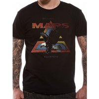 30 Seconds To Mars - Walk On Water Vintage Men's Small T-Shirt - Black