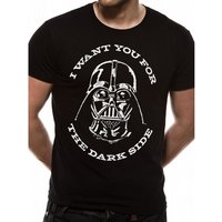 Star Wars - Sith Vader Logo Men's Medium T-Shirt - Black