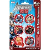 Marvel HeroClix Avengers Assemble Captain America Dice & Token Pack