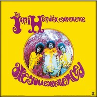 Jimi Hendrix - Are You Experienced 12 Inch Album Cover Framed Print