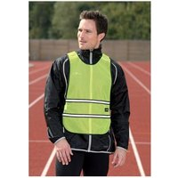 Precision Running Reflective Vest Fluo Yellow