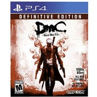 DmC Devil May Cry Definitive Edition PS4 Game (#)