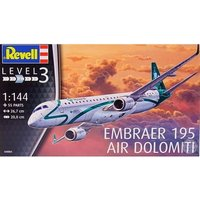 Embraer 195 Air Dolomiti 1:144 Revell Model Kit