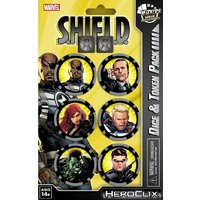 Marvel Hero Clix Nick Fury Agent of Shield Dice & Token Pack