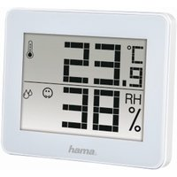 Hama TH-130 Thermometer/Hygrometer, white