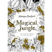 Magical Jungle : 36 Postcards to Colour and Send