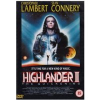 Highlander 2 The Quickening DVD