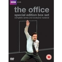 The Office 10th Anniversary Edition Complete Series 1 & 2 and the Christmas Specials DVD