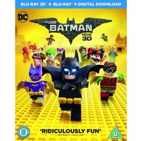 The LEGO Batman Movie Blu-ray 3D   Blu-ray   Digital Download