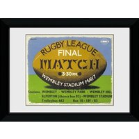 Transport For London Rugby Framed Collector Print