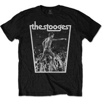 Iggy & The Stooges - Crowdwalk Men's XX-Large T-Shirt - Black