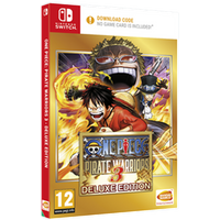 One Piece Pirate Warriors 3 Deluxe Edition Nintendo Switch Game [Code in Box]