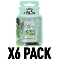 Aloe Water (Pack Of 6) Yankee Candle Ultimate Car Jar Air Freshener