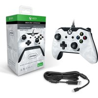PDP Wired Controller White Camo for Xbox One