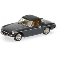 Minichamps 1:43 MGB Cabriolet With Closed Softtop 1968 - Blue