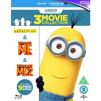 Minions Collection (Despicable Me/Despicable Me 2/Minions) Blu-ray