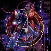 Avengers: Infinity War - Icon Characters Canvas