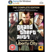Grand Theft Auto IV 4 GTA Complete Edition Game
