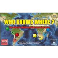 Who Knows Where? - The Global Location Guessing Board Game