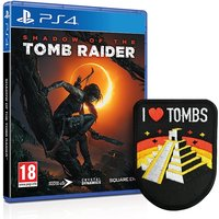 Shadow Of The Tomb Raider PS4 Game + I Love Tombs Patch