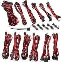 BitFenix Alchemy 2.0 PSU Cable Kit EVG/SF-Series - Black & Red