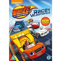 Blaze And The Monster Machines: Race Into Velocityville DVD