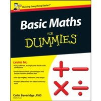 Basic Maths for Dummies by Colin Beveridge (Paperback, 2011)