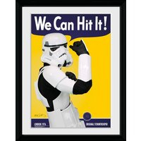 Stormtrooper Can Hit Collector Print