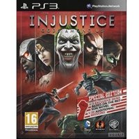 Injustice: Gods Among Us red son Tin box PS3 Game