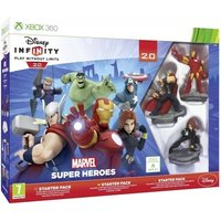 Disney Infinity 2.0 Marvel Superheroes Starter Pack & Xbox 360 Game