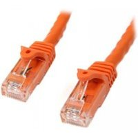 StarTech Cat6 Patch Cable with Snagless RJ45 Connectors 10 m Orange