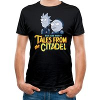 Rick And Morty - Tales Of The Citadel Men's Large T-Shirt - Black