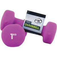 Yoga-Mad Neoprene Dumbbells 1KG