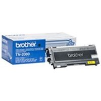 Brother TN-2000 Toner black, 2.5K pages @ 5% coverage