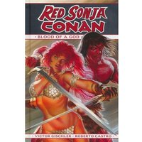 Red Sonja / Conan: The Blood of a God Hardcover