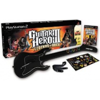 Guitar Hero III 3 Legends Of Rock Game + Wireless Guitar Controller