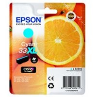 Epson C13T33624012 (33XL) Ink cartridge cyan, 650 pages, 9ml