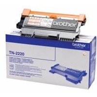 Brother TN-2220 Toner black, 2.6K pages
