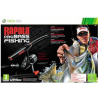 Rapala Pro Bass Fishing Game with Rod Controller