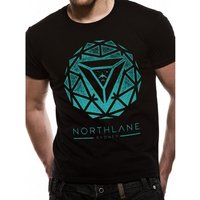 Northlane - Spiral Unisex Large T-Shirt - Black