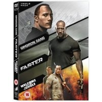 Gridiron Gang Faster Welcome to the Jungle Triple Pack DVD