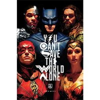 Justice League Movie - Save The World Maxi Poster