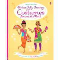 Sticker Dolly Dressing Costumes Around the World