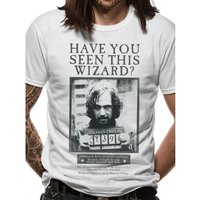 Harry Potter - Sirius Poster Men's Small T-Shirt - White