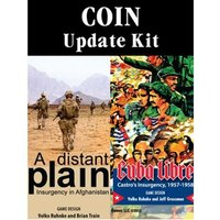COIN Update Kit for Cuba Libre and Distant Plain 1st and 2nd Printings
