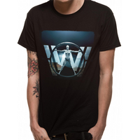 Westworld - Vetruvian Woman Men's Medium T-Shirt - Black