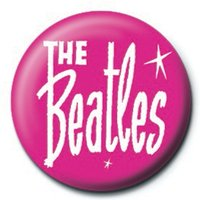 The Beatles - Pink Badge