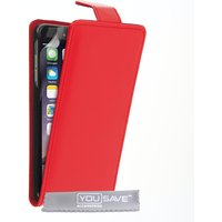 YouSave Accessories iPhone 6 Plus / 6s Plus PU Leather Flip Case - Red